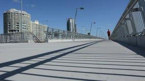 Puente Gold Coast Queensland Australia de Sundale almacen de metraje de vídeo
