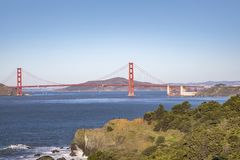 Puente Golden Gate fotos de archivo libres de regalías
