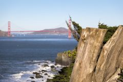 Puente Golden Gate de fotografía de archivo