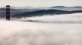 Puente Golden Gate de la niebla Imagen de archivo