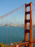 Puente Golden Gate de San Francisco Fotografía de archivo