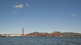 Puente Golden Gate de San Francisco almacen de metraje de vídeo