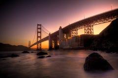 Puente Golden Gate HDR Imagen de archivo libre de regalías