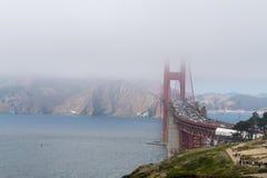 Puente Golden Gate icónico en San Francisco fotos de archivo libres de regalías