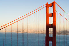 Puente Golden Gate panorámico San Francisco Marin County Headland Fotos de archivo libres de regalías