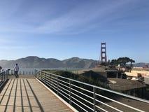 Puente Golden Gate San Fran California Imágenes de archivo libres de regalías
