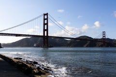 Puente Golden Gate San Francisco Bay Ship Fotografía de archivo