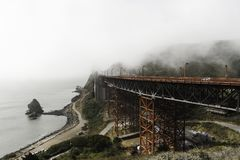 Puente Golden Gate, San Francisco, California foto de archivo