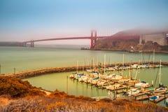 Puente Golden Gate Sausalito Foto de archivo libre de regalías