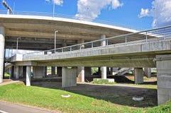 Puente grande de la ciudad fotos de archivo libres de regalías