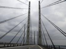 Puente grande de la correa Fotografía de archivo libre de regalías