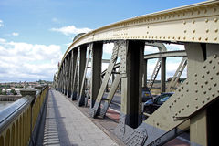 Puente histórico de Rochester Imagen de archivo
