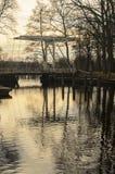 Puente holandés Fotografía de archivo