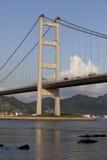 Puente Hong-Kong de Tsing mA Foto de archivo libre de regalías