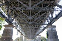 Puente icónico de Sydney Harbour Fotos de archivo libres de regalías