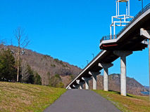 Puente II de Little Rock Fotos de archivo libres de regalías