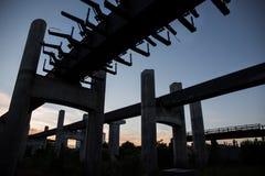 Puente inacabado Imagen de archivo