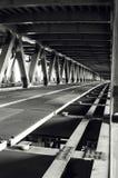 Puente inacabado del hierro Fotografía de archivo libre de regalías