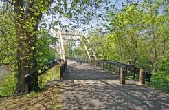 Puente Indiana de Dunns Fotografía de archivo libre de regalías