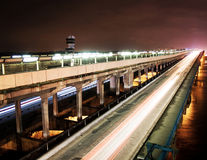 Puente industrial Fotografía de archivo libre de regalías