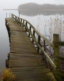 Puente inestable fotografía de archivo libre de regalías