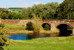 Puente inglés Imagen de archivo libre de regalías
