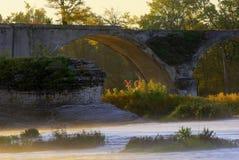 Puente interurbano foto de archivo