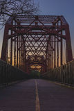 Puente justo de los robles Fotografía de archivo libre de regalías