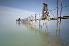 Puente a Kelong Imagen de archivo libre de regalías