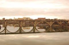 Puente Knoxville de la calle de Henley Imágenes de archivo libres de regalías