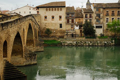 Puente  la Reina Spain Royalty Free Stock Photo