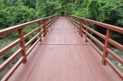 Puente a la selva, parque nacional de Khao Yai Fotografía de archivo libre de regalías