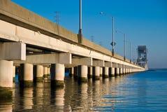 Puente largo Imagenes de archivo