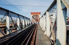 Puente largo de Bien Imagen de archivo