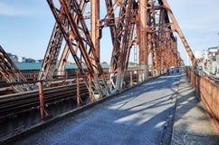 Puente largo de Bien Imagenes de archivo
