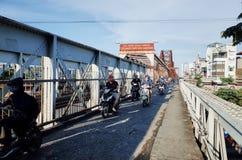 Puente largo de Bien Fotografía de archivo libre de regalías
