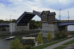 Puente levadizo Fotografía de archivo libre de regalías