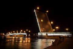 Puente levadizo Fotografía de archivo