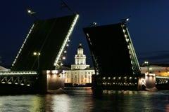 Puente levadizo Imagen de archivo