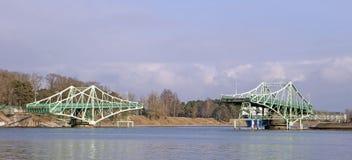 Puente levadizo, Letonia Fotografía de archivo libre de regalías