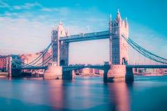 Puente Londres Reino Unido de la torre Fotografía de archivo