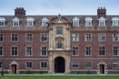 Puente matemático, Cambridge Fotografía de archivo libre de regalías