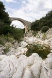Puente medieval Fotografía de archivo