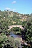 Puente medieval Nant Fotografía de archivo