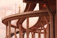 Puente mega de Tailandia Foto de archivo
