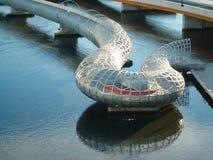 Puente Melbourne de Webb foto de archivo