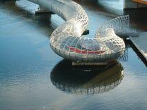 Puente Melbourne de Webb imágenes de archivo libres de regalías