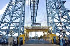 Puente Middlesbrough del transportador Foto de archivo libre de regalías