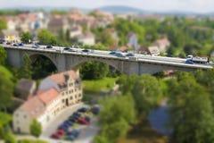 Puente miniatura Imagen de archivo libre de regalías