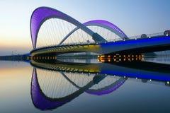 Puente moderno Fotografía de archivo libre de regalías